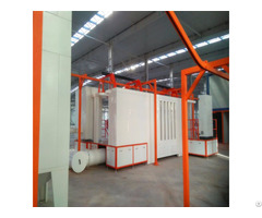 Easy Coat Powder Spray Booth With Recovery System