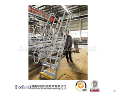 Fixed Step Ladders With Handrails For Industry