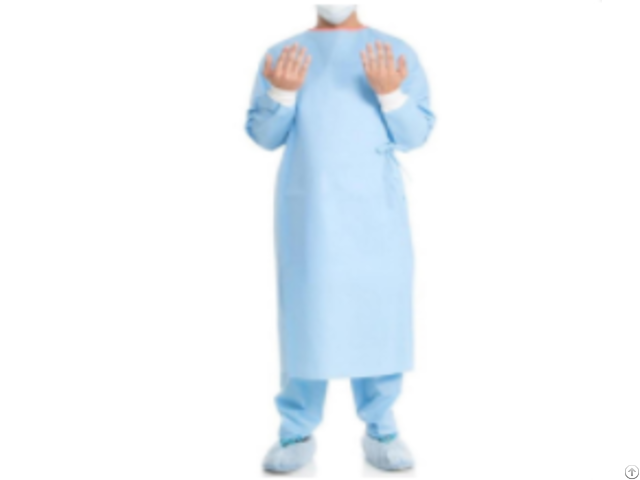 Non Reinforced Surgical Gowns With Raglan Sleeves