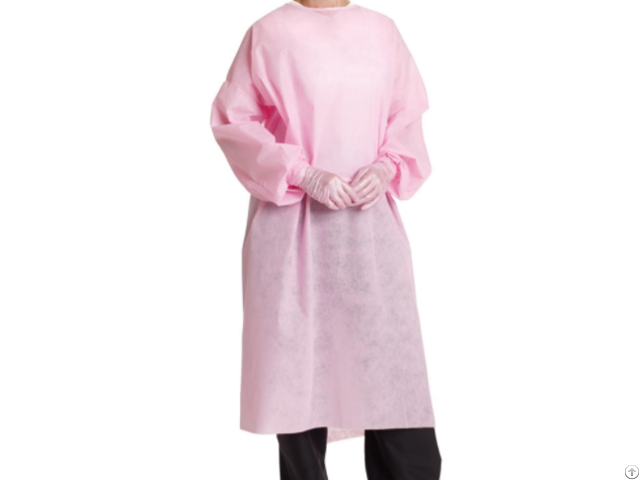 Sms Isolation Gown