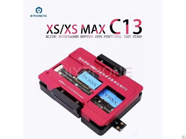 Mj C13 Iphone Xs Max Motherboard Upper Lower Pcb Test Fixture Jig
