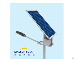 Easy Installation 40w Solar Street Light With High Quality