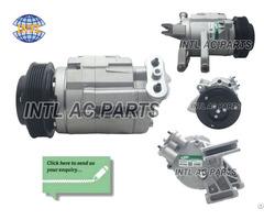 A C Compressor 4 Seasons 67676 Chevy Equinox Gmc Terrain Valeo Sp17 With Clutch 6pk 120mm