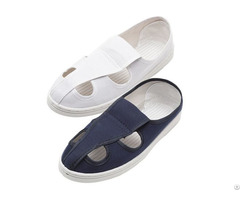 Hot Selling High Quality Dust Free Cleanroom Anti Static Pvc Pu Shoes Wholesale