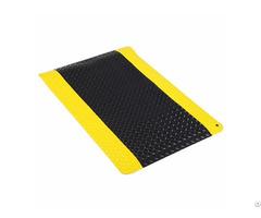 Factory Price Various Size Industrial Esd Anti Slip Black Floor Mat Supplier