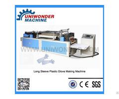 Disposable Long Sleeve Glove Making Machine
