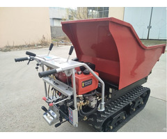 Good Quality Garden Machine Mini Hydraulic Dumper Qtp500j With Fair Price
