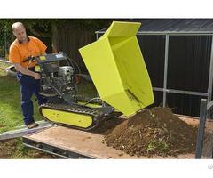 Brand 500kg Load Mini Dumper Crawler Machine With Ce