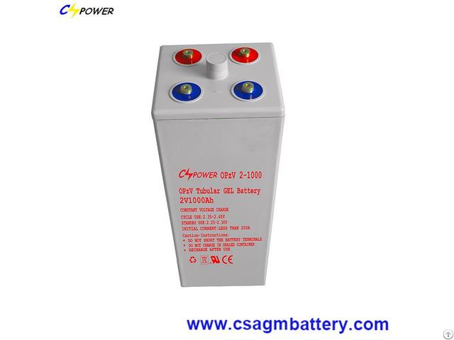 Narada Quality Tubular Opzv Gel Battery 2v 1000ah For Power Storage