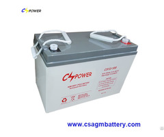 Deep Cycle Solar Agm Batteries 12v100ah For Power Storage