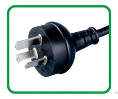 Iram Approved 3 Pins Argentina Ac Plug Xr 611