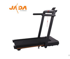 Ultra Thin Design Easy Up And Assemble Folding Electric Motorized Treadmill For Fitness Machine