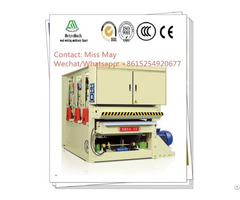 Three Heads Wide Belt Sander Machine For Making Plywood Particle Board