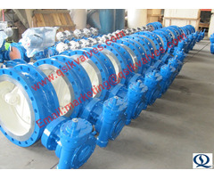 Flange Type Butterfly Valve With Bi Directional Seaing Performance