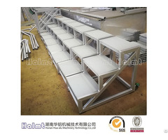 Moveable Aluminium Step Stools For Factory