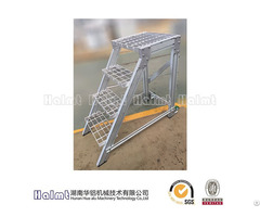 Mobile Aluminium Step Stools For Factory