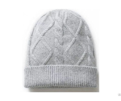 Popular Hot 100% Polyester Plain Beanies Knitted Hats