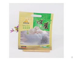 Eco Friendly Food Grade Die Cut Handle Plastic Bags