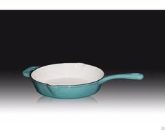 26cm Frying Pan Cast Iron Enameled