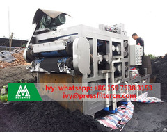 Textile Waste Sludge Belt Dewatering Machine For Effluent Treatment Plant