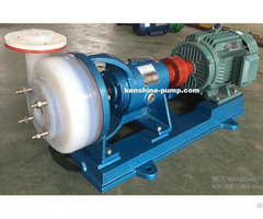 Fsb Series Fluroplastic Chemical Industry Centrifugal Pump