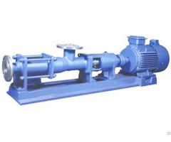 G Fg Series Single Screw Pump