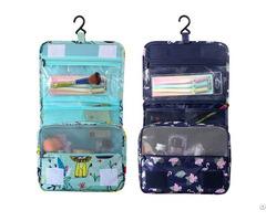 China Cosmetic Bag Factory Printing Waterproof Large Capacity Wash Storage Bags