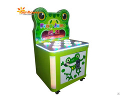 Coin Operated Kids Arcade Frog Game Hammer