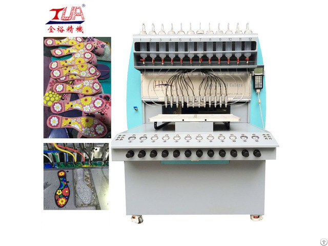 Plastic Shoe Sole Dropping Machine