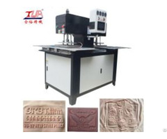 3d Logo Embossed Machinery For Fabric