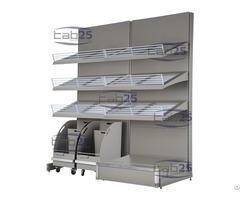 Bakery Wall Display Metal Unit 02