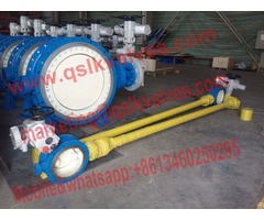 Bi Directional Sealing Butterfly Valve In Buried Service