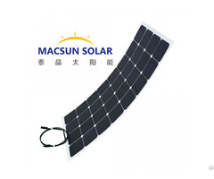New Energy And High Quality 50 W Flexible Thin Film Solar Panel