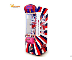 Hot Sale Turntable Lucky Number Coin Operated Prize Gifts Vending Machine