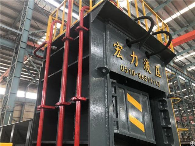 Hydraulic Scrap Metal Shear Baler Machine High Quality