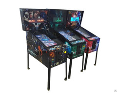 Coin Operated Virtual Pinball Table 32 Inch Display Video Game Machine