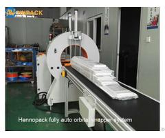 Fully Automatic Bar Wrapping Horizontal Orbital Wrap Machine