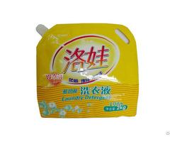 Exquisite Quality Customized Laminated Liquid Detergent Bag
