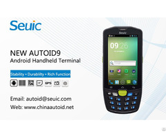 Industiral Handheld Terminal For Logistic And Retail Management New Autoid9