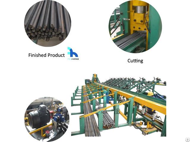 High Performance Hydraulic Shearline Rebar Cutting Machine