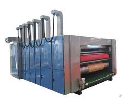 Rotary Die Cutting Machine With Flexo Printer