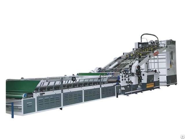 Automatic Back Gauge Positioning Flute Laminating Machine