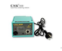 Cxg938 75w Lead Free Temperature Adjustable Soldering Station For Repair Pcb Diy Tin Welding Machine