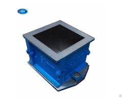 Plastic Cast Iron Concrete Test Mould