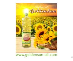 Refined Sunflower Oil Goldensun