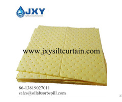 Chemical Absorbent Pads Dimpled Perforated
