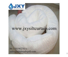 White Oil Absorbent Boom