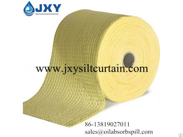 Chemical Absorbent Roll Dimpled Perforated