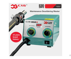 Cxg802 Desoldering Electric Hot Air Heat Gun Repair Rework Station Factory Directly Supply