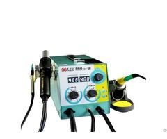 Digital Display Hot Air Heat Gun Smd Rework Desoldering Station Cxg802